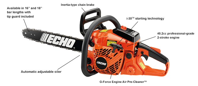 ECHO CS400-18 Chain saw