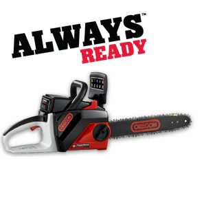 Oregon CS250-E6 Chain Saw Kit with Endurance Battery Pack