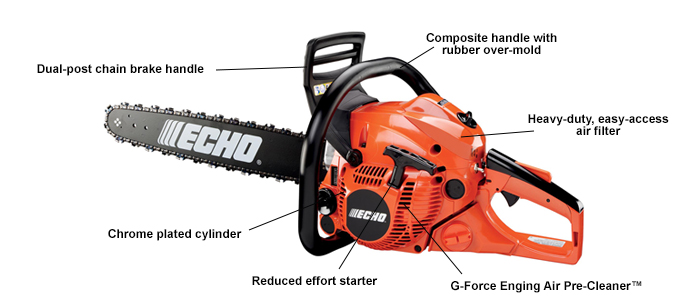 ECHO CS490-18 Chain saw
