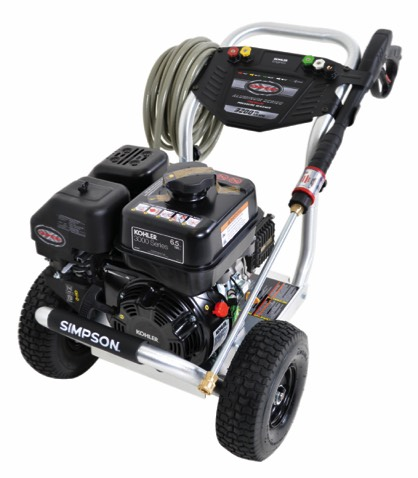 Simpson ALH3225 Aluminium Series 3200PSI, direct drive gas powered pressure washer